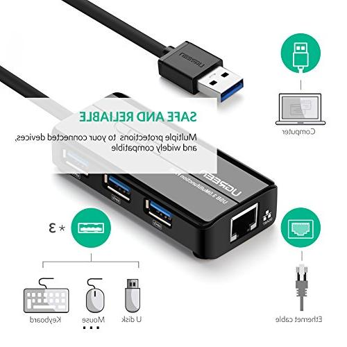 UGREEN Adapter Gbps with Hub Ports Nintendo Pro, MacBook Pro, PC