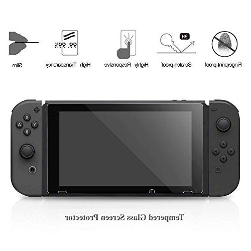 with Nintendo Switch, Accessories Kit Racket, Steering Case and