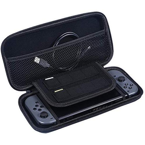 Zadii Accessories Compatible with Nintendo Accessories Kit with Tennis Steering 4-Channel Dock, Carrying