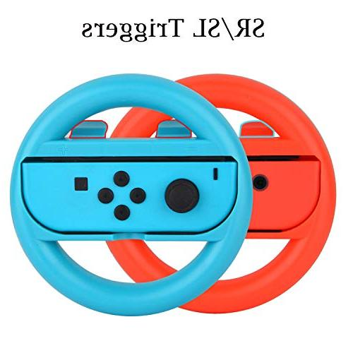 Accessories Kit for Switch Games Grip Caps Case Screen Protector Controller