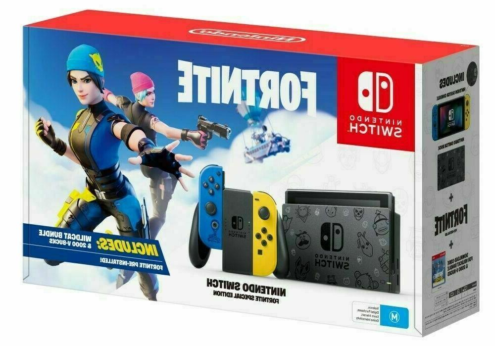 brand new switch console neon blue