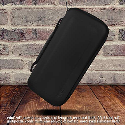 Orzly With BLACK Hard Travel Carry Pouch Console &
