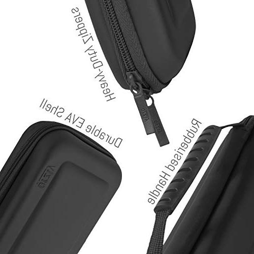 Orzly Case With Nintendo BLACK Protective Portable Travel Case Shell Console