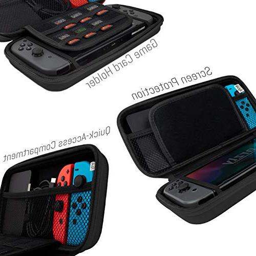 With Nintendo BLACK Travel Pouch Nintendo Console Accessories