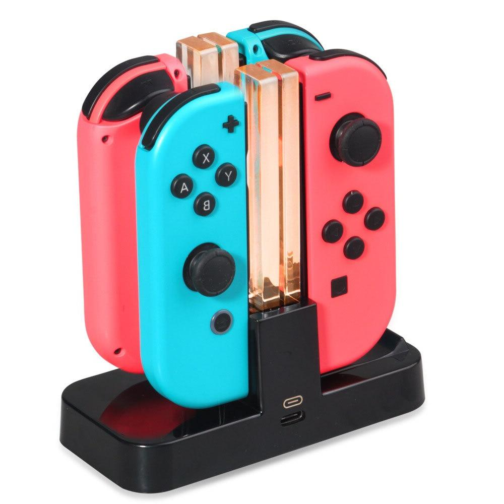 Charging Nintend <font><b>Switch</b></font> LED Charger For Nintendo Charge Stand For NS 4