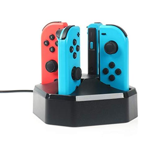 charging station for nintendo switch joy con