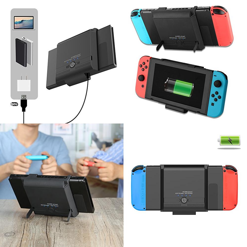 nintendo switch battery case 5800mah portable