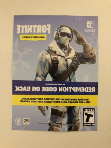 fortnite deep freeze bundle 1000 vbucks switch