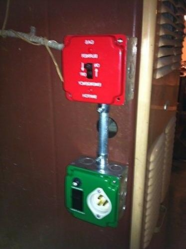 EZ GENERATOR SWITCH - Generator Manual Switch UNIVERSAL approved
