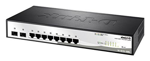 10-Port Switch Including 2 SFP Ports