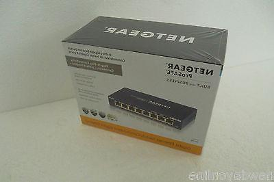 gs108 prosafe 8 port gigabit ethernet desktop