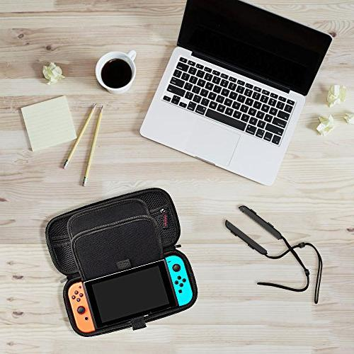 Hestia Case compatible with Switch - Cartridges Hard Shell Travel for Nintendo Switch &