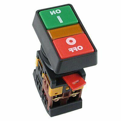 Industrial Machine ON-OFF START-STOP Push Button Momentary S