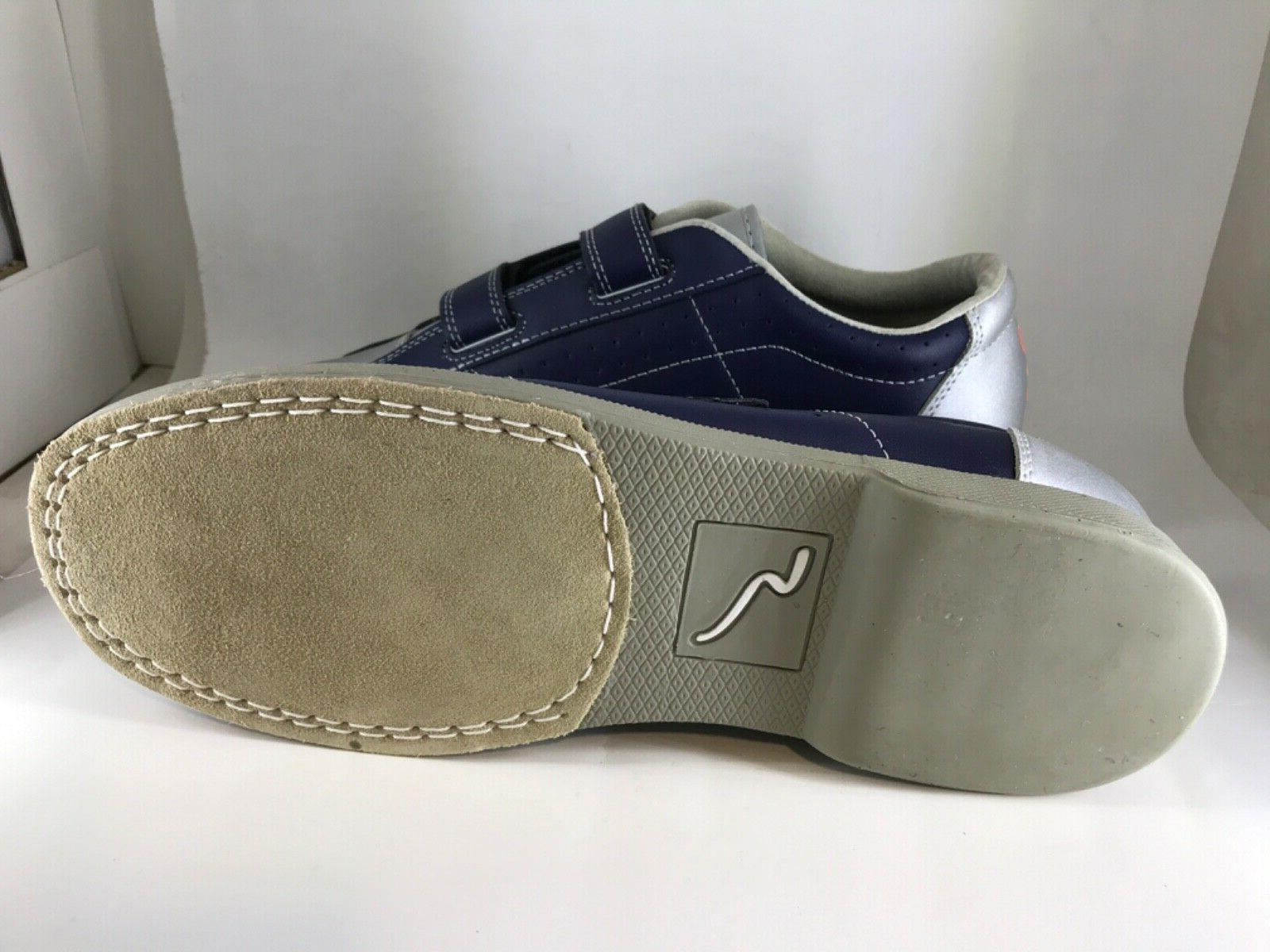 Leather Sole Shoes by Switch w/Velcro Fasteners