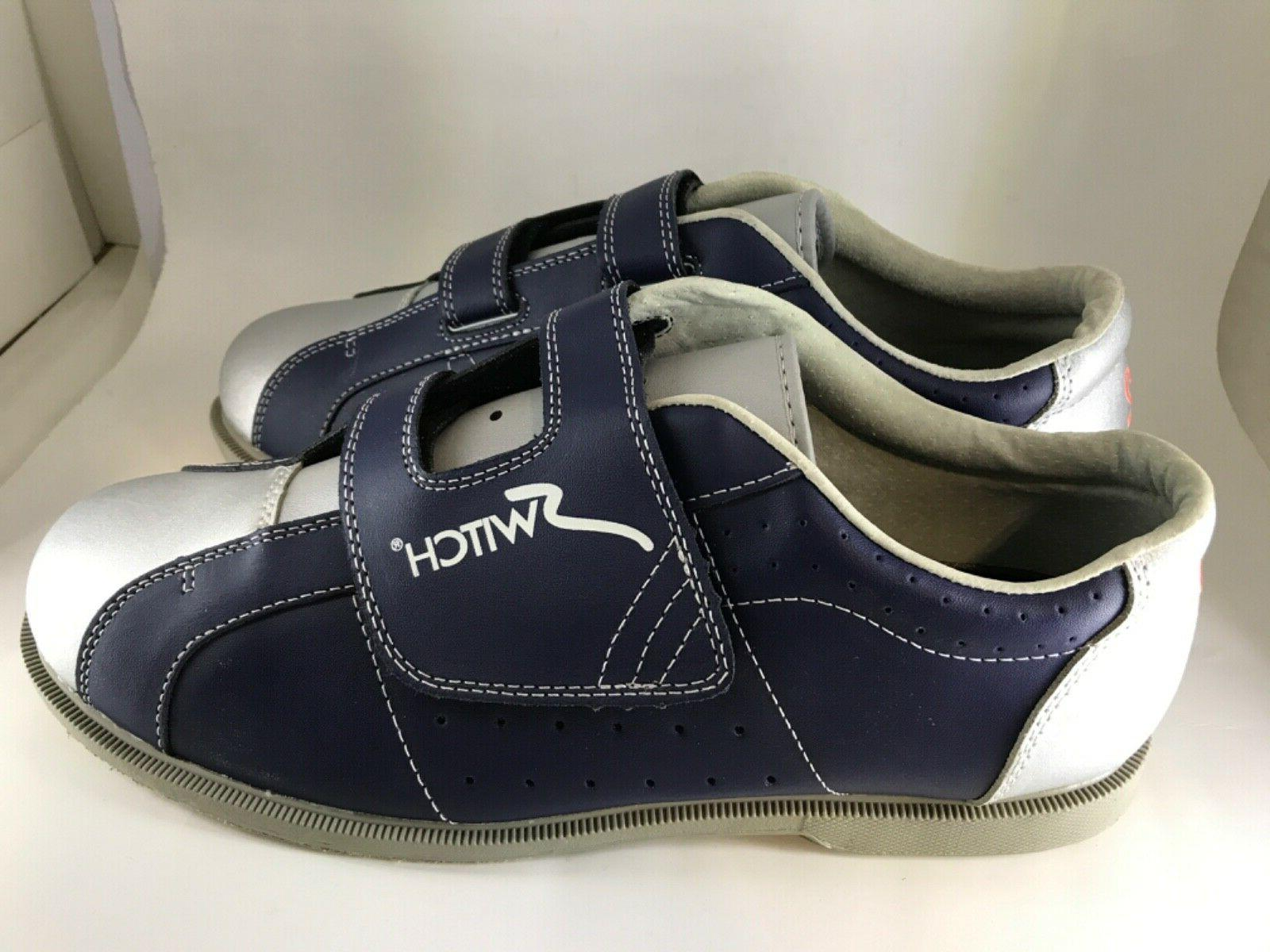 Leather Sole by Switch Size w/Velcro
