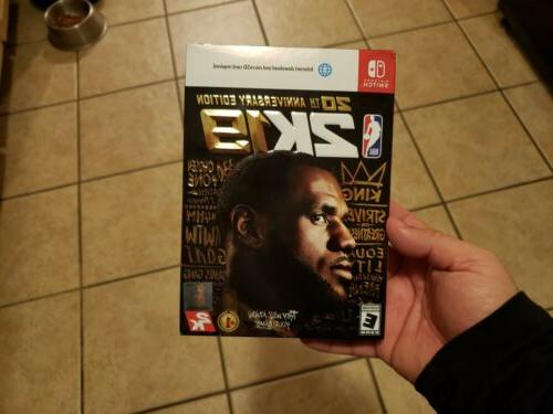 nba 2k19 20th anniversary edition switch