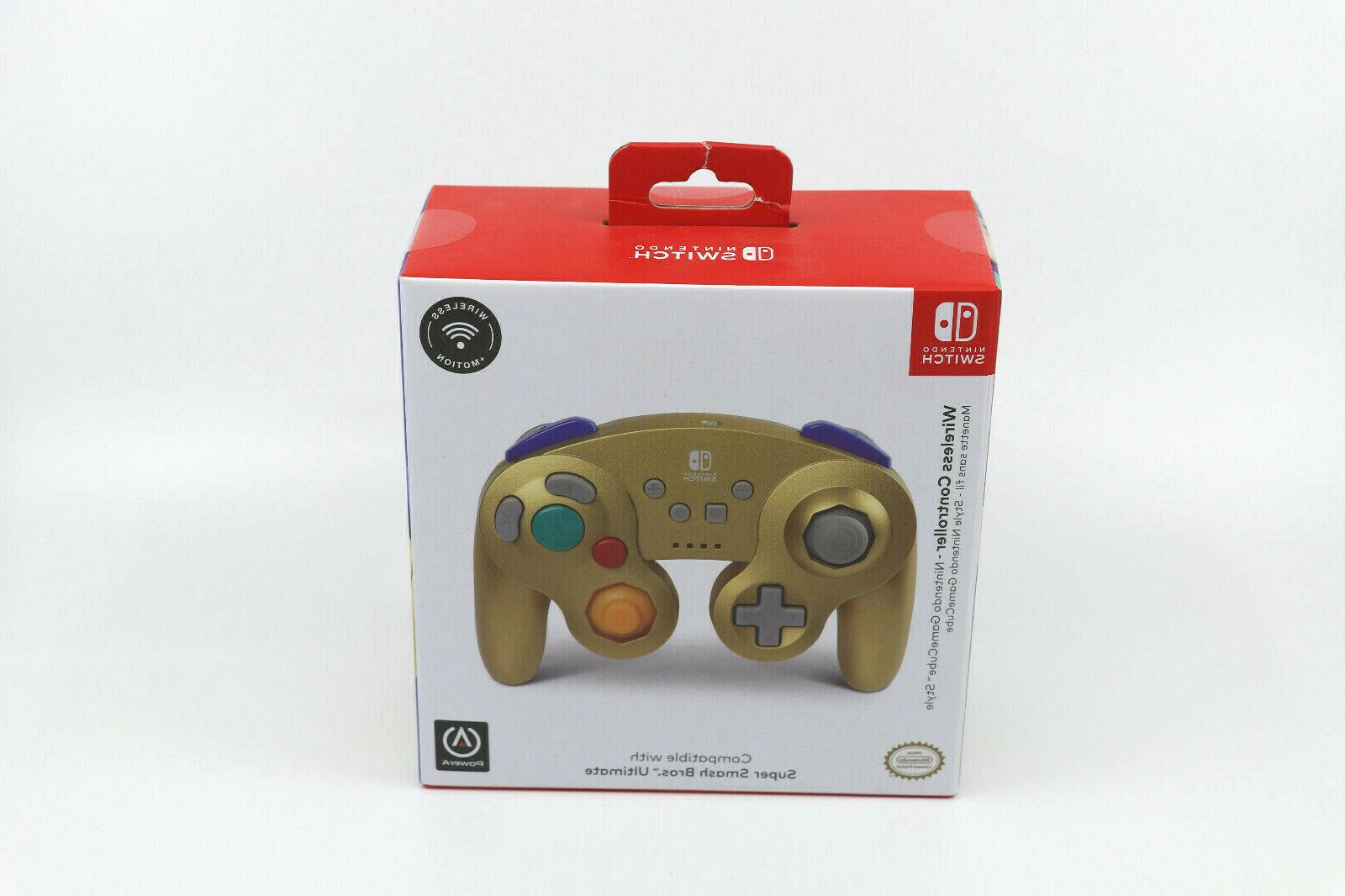 new gamecube style wireless controller for nintendo