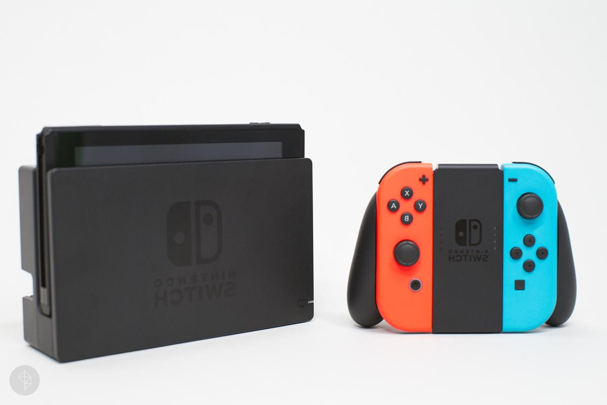 NEW Gray Red Joy-Con