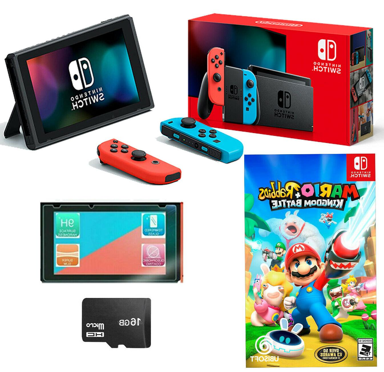 new switch bundle mario rabbids kingdom battle
