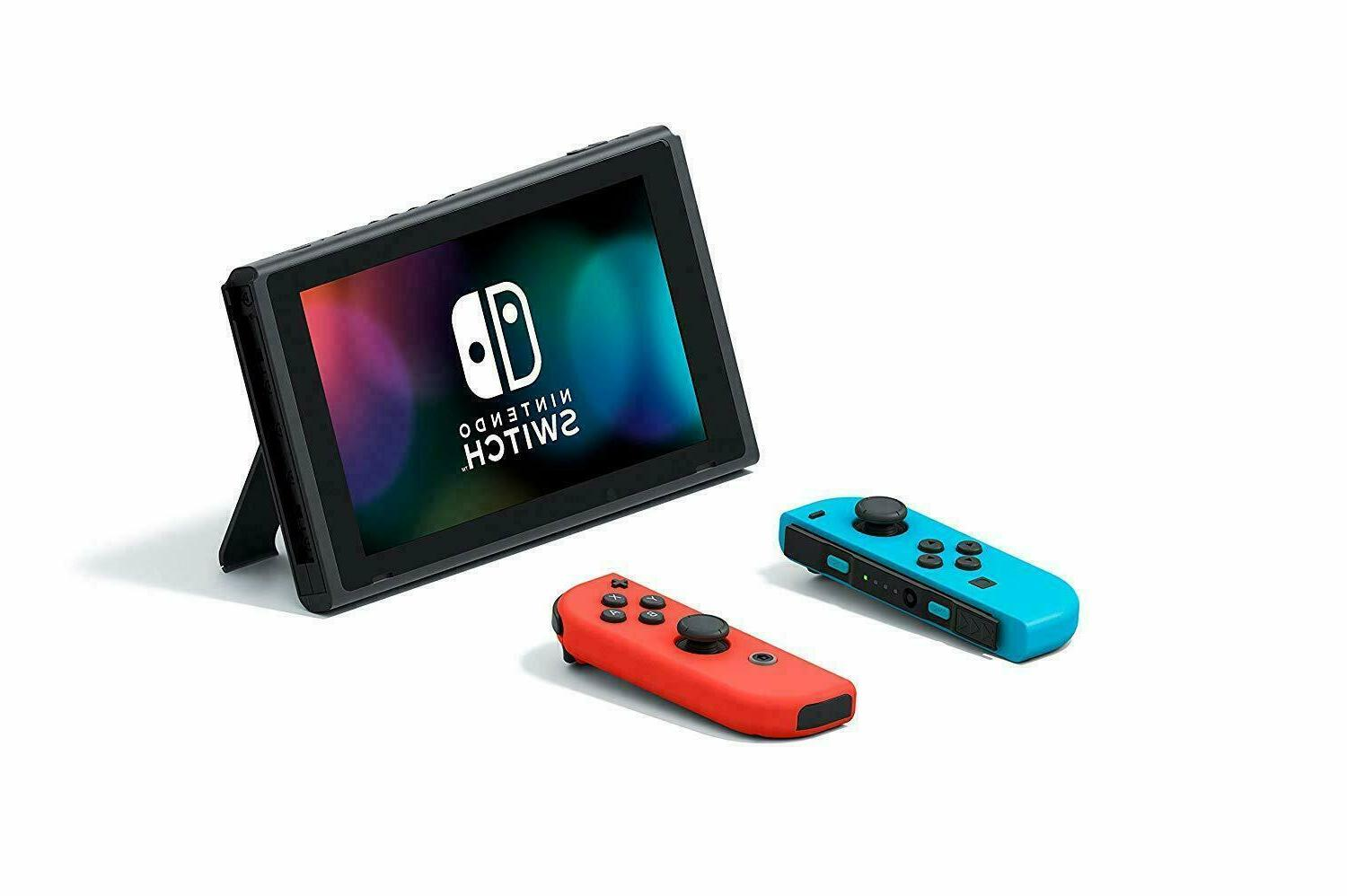 NEW 32GB Neon Blue and Neon Joy Cons