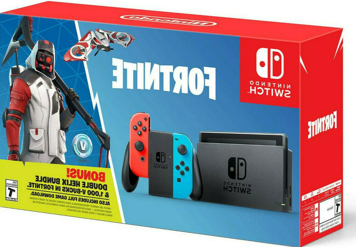 new switch fortnite double helix pack console