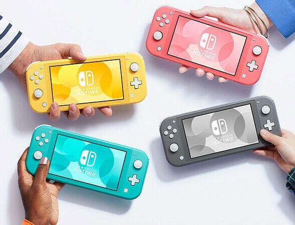 new switch lite 32gb touchscreen wifi enabled