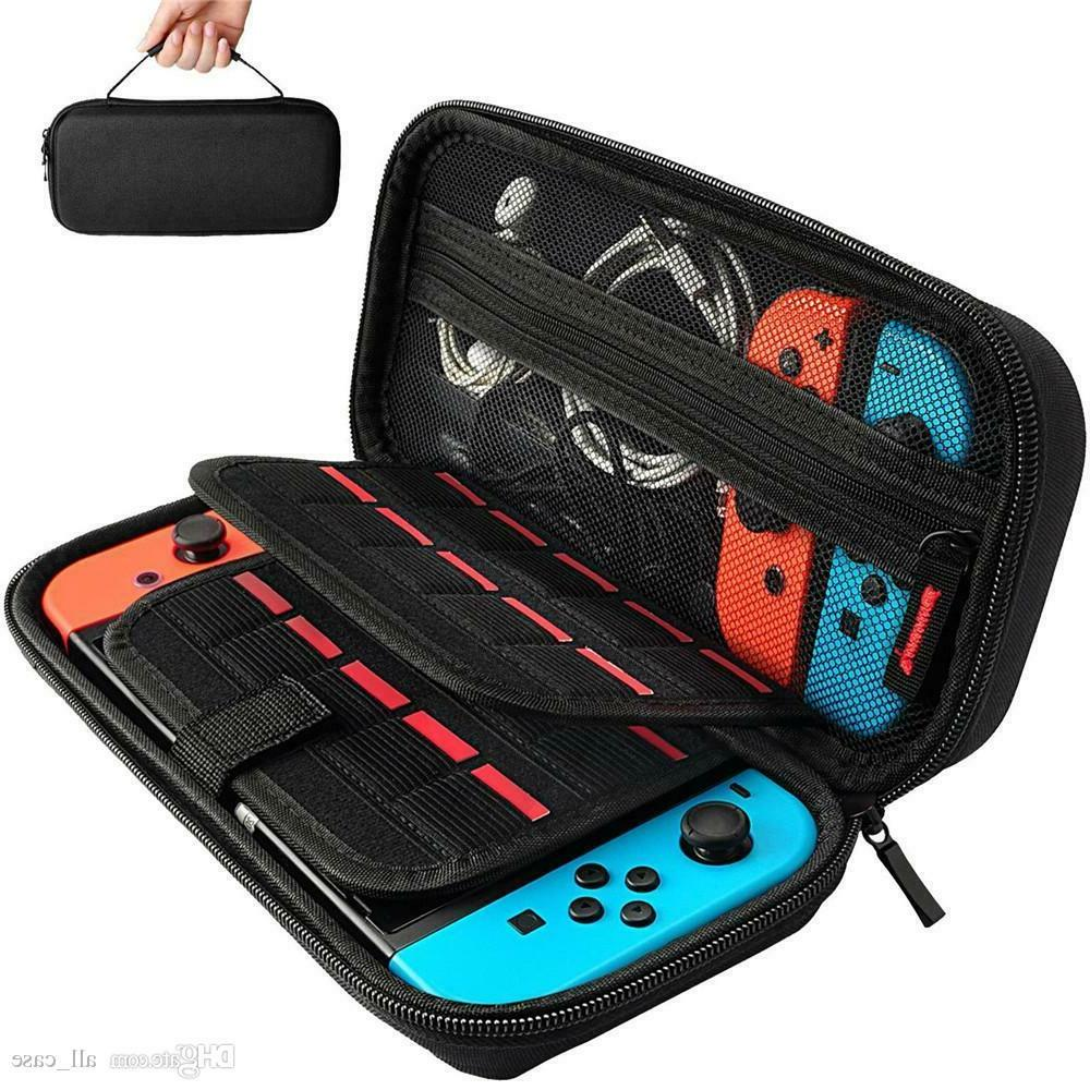 nintendo switch carrying case console accessories