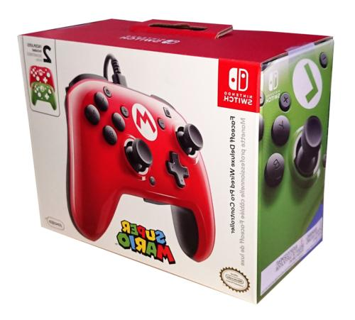 PDP Nintendo Switch Faceoff Wired Pro Controller with 2 Supe