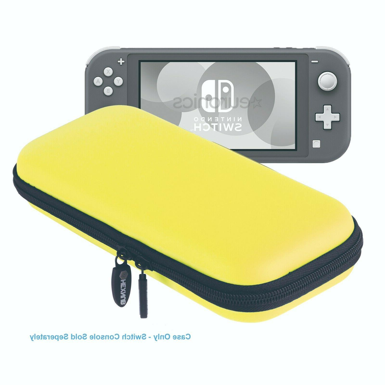 Nintendo Lite Carry Case Console Games and