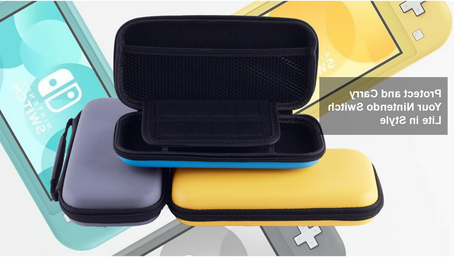 Nintendo Switch Carry Case Holds Console Games Charger Accessories