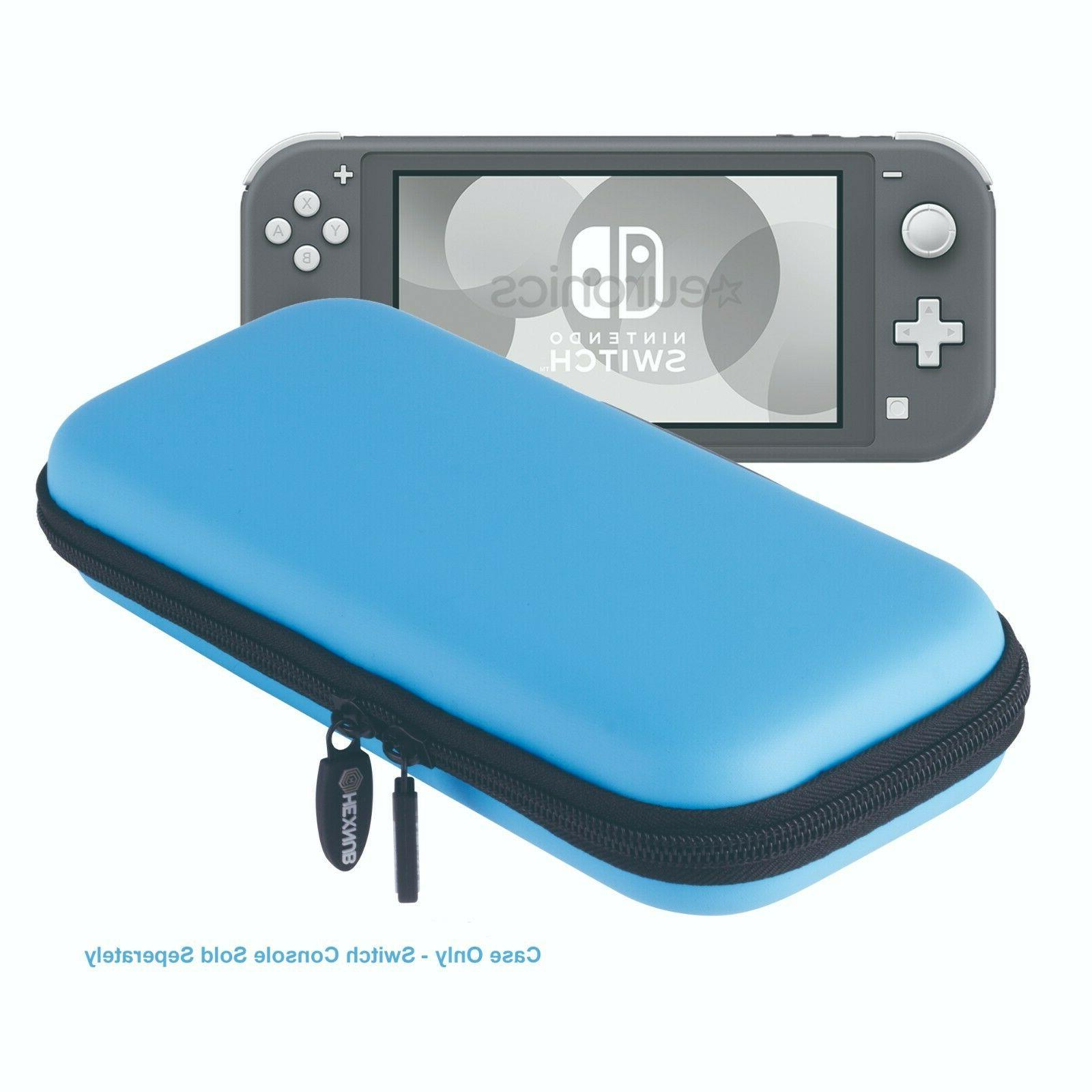 nintendo switch lite carry case holds console