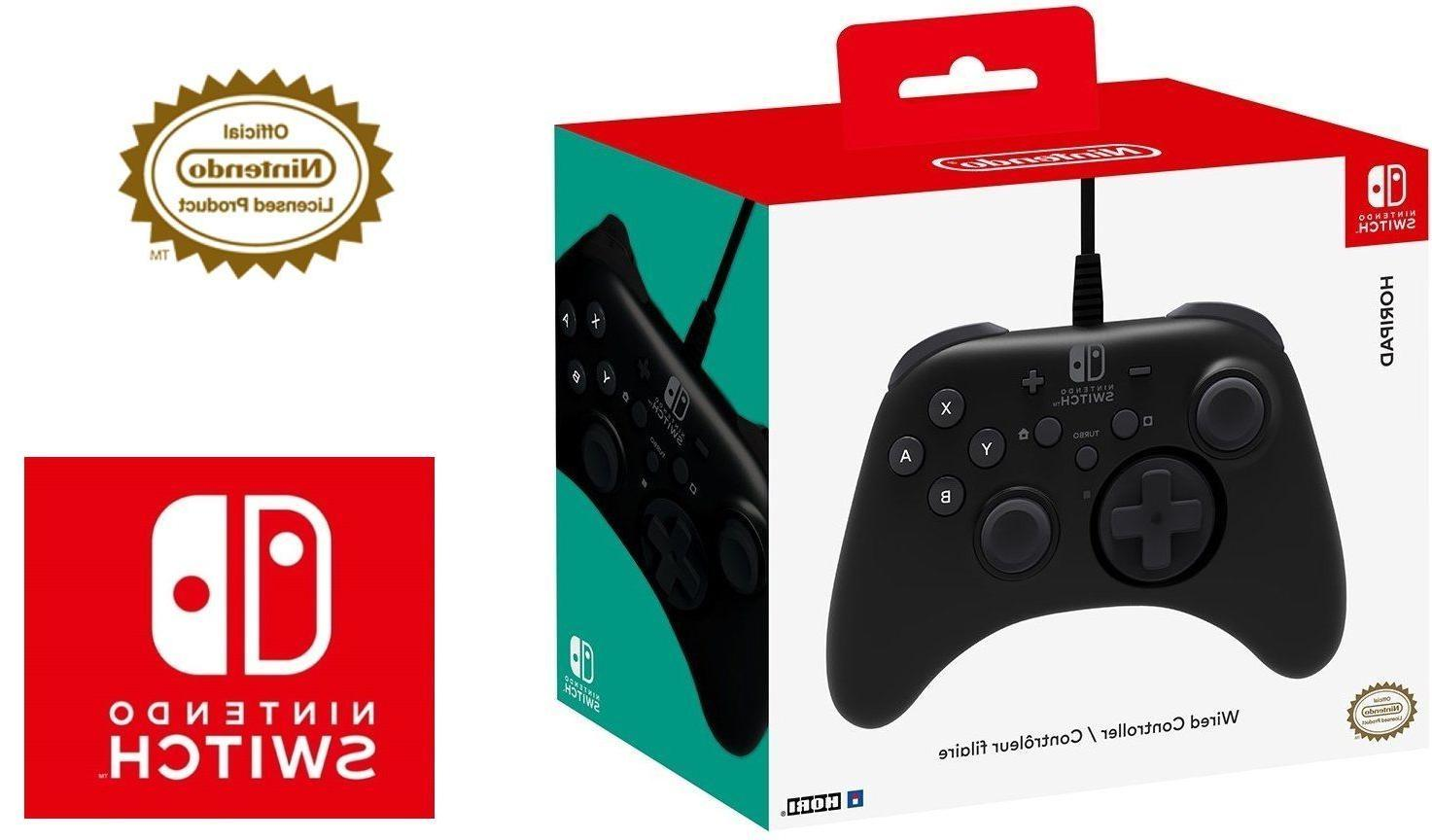 nintendo switch pad wired controller officially licensed