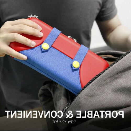 For Nintendo Storage Mario Accessories Carrying