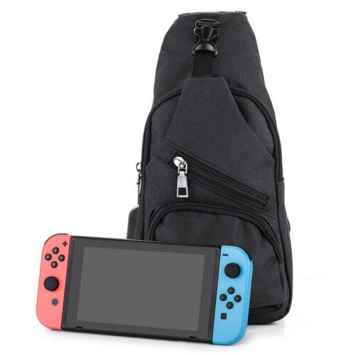 USB Charging Backpack For Nintendo Switch Accessories Contro
