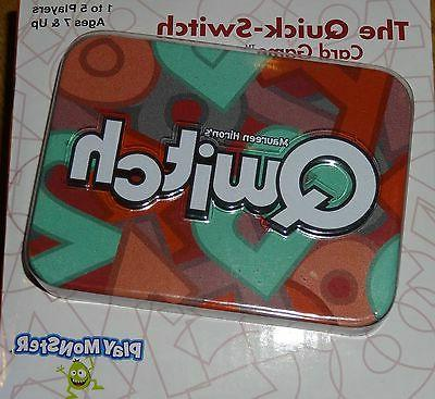 Qwitch the Quick-Switch Card Game 1 to 5 players Ages 7 & Up
