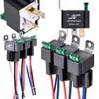 Relay  Harness Set 6 Pack OLS 30A Fuse 12V DC 4-Pin SPST Aut