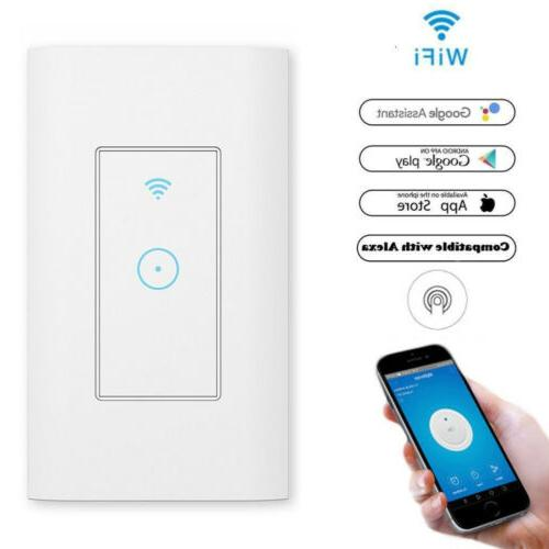 smart led light dimmer wifi wall touch