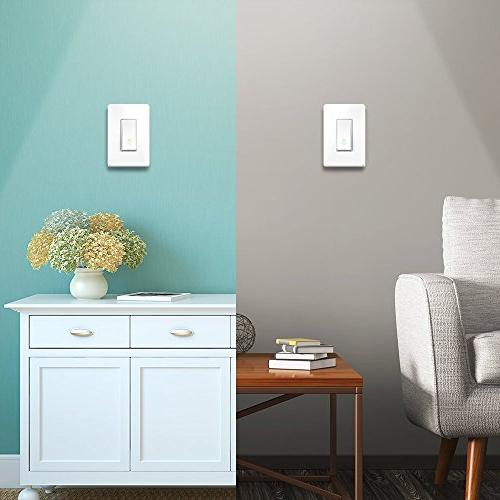 Kasa Wi-Fi Switch, TP-Link - Control from Anywhere, Easy Installation , No Hub Required, Works with Alexa and Google