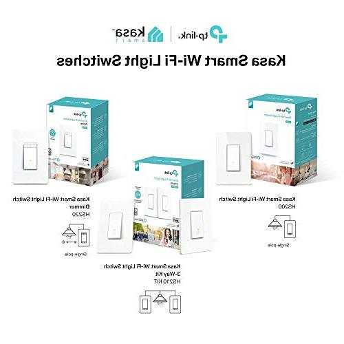 Kasa Smart Light Switch, Kit TP-Link - Lighting from Easy Installation , No Required, Works and Google Assistant