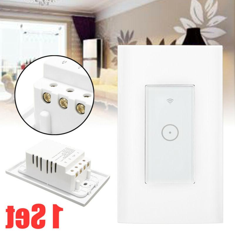 smart wifi light wall switch touch remote