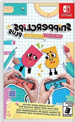 snipperclips plus cut it out together switch