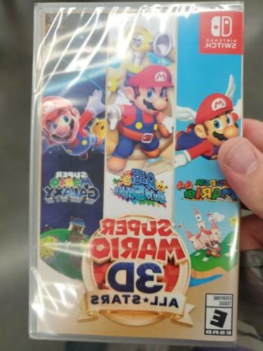 Super Mario 3D All-Stars - Nintendo Switch  Physical Copy