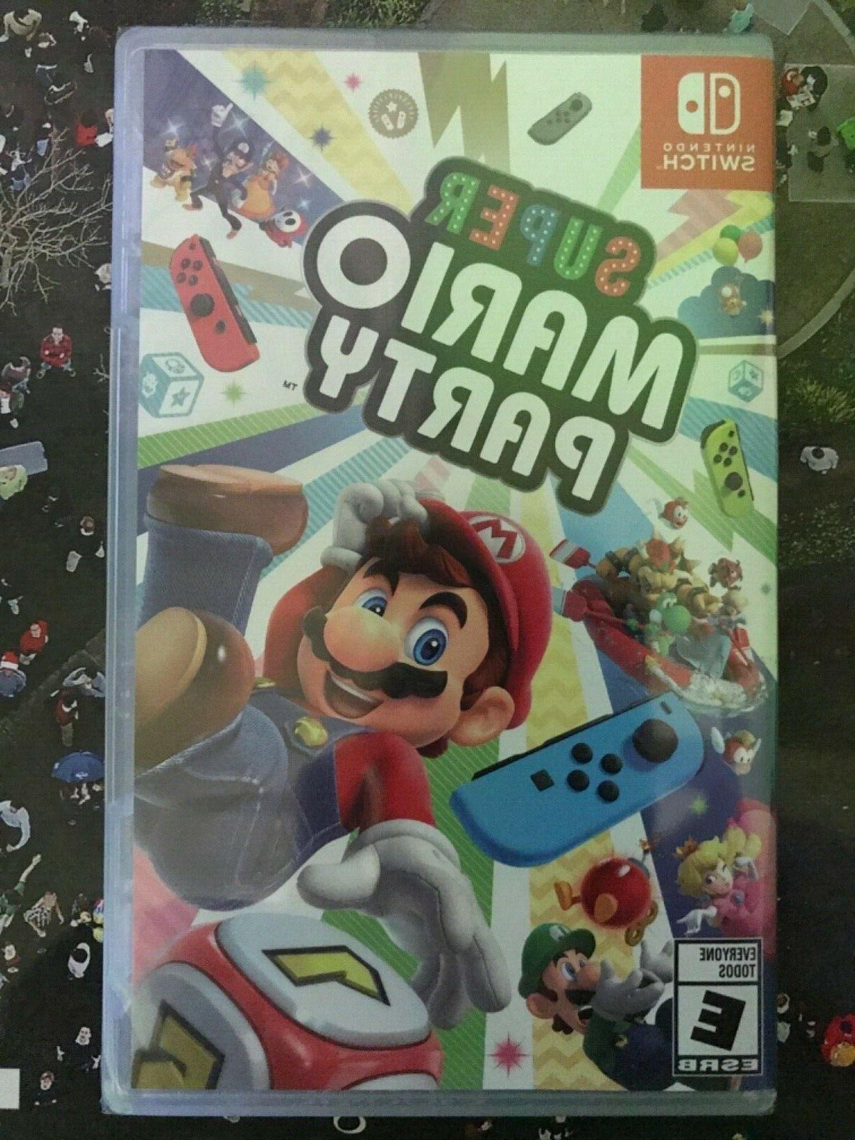 super mario party for switch brand new