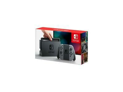switch 32gb console with gray joy con