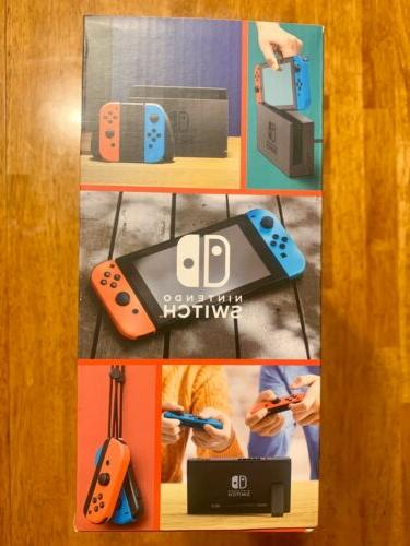 Nintendo Switch with Neon NEW
