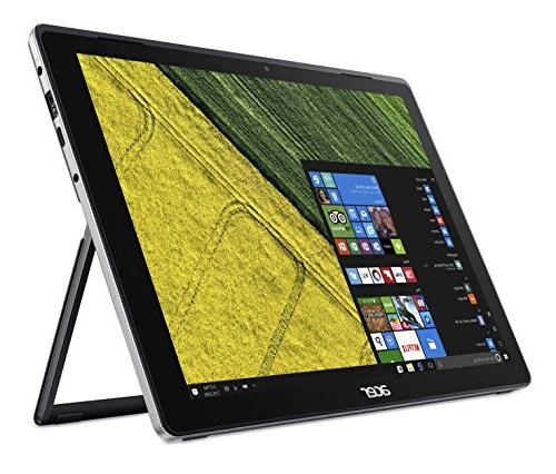 Acer SW512-52-55YD Laptop/Tablet, Core 8GB 256GB Active Black