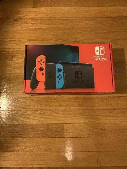 Console Neon Red ✅