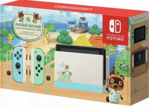 switch animal crossing new horizons console special