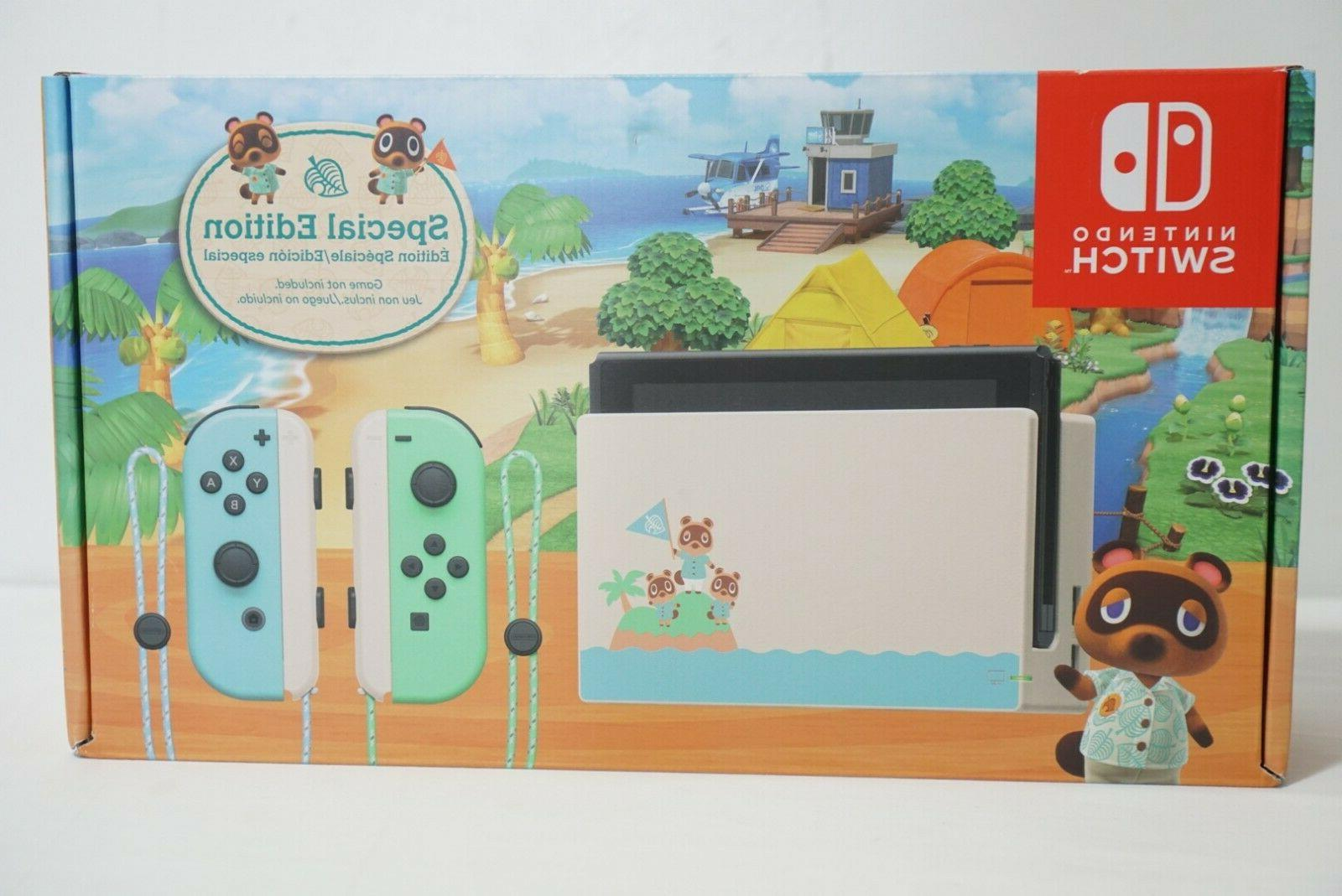 Nintendo Console Animal Crossing Edition IN HAND