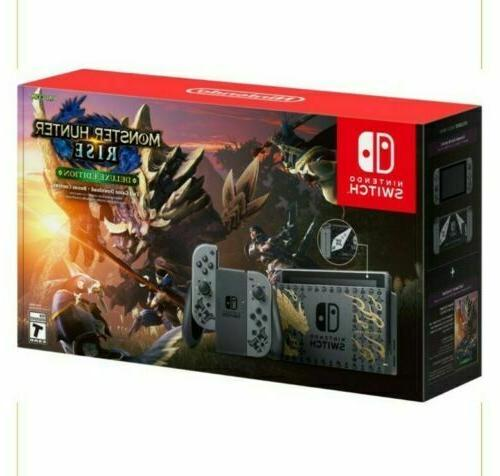 switch console gray newest model v2 free